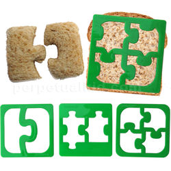Puzzle Pieces Sandwich Cutter Set