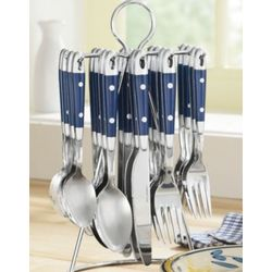 20-Piece Hanging Flatware - FindGift.