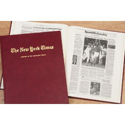 New York Times Cleveland Indians Personalized Team Book