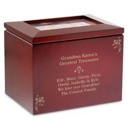 Personalized Photo Box for Grandma