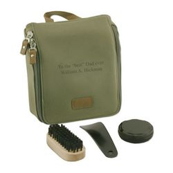 Personalized Shoe Shine Kit