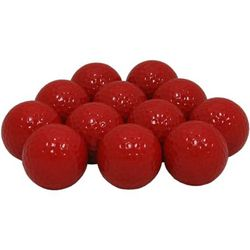 Red Personalized Golf Balls