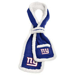 New York Giants Sherpa Scarf