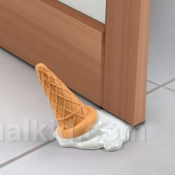 Scoops Ice Cream Doorstop