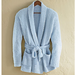 Ladies Shawl Collar Lounge Robe Jacket