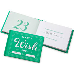What I Wish for You by Me Book