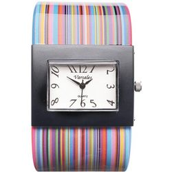 Bright Striped Watch