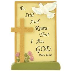 Be Still Psalm Plaque