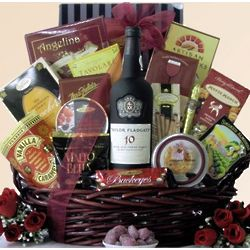 Taylor Fladgate Port Wine Father's Day Wine Gift Basket
