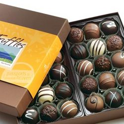 Gourmet Chocolate Truffles - 30 Pieces