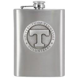 Tennessee Volunteers Stainless Steel Team Flask
