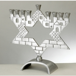 Jerusalem Star Menorah