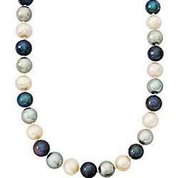 Multicolored Cultured Pearl Necklace