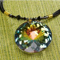 Aurora Borealis Crystal Necklace