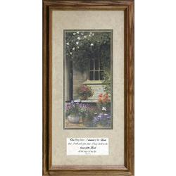Garden Dwelling Framed Art Print