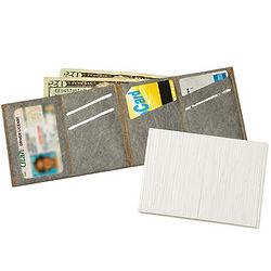 Patterend Slimfold Wallet