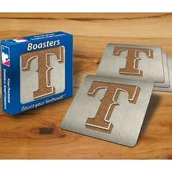 Texas Rangers Boaster Coasters