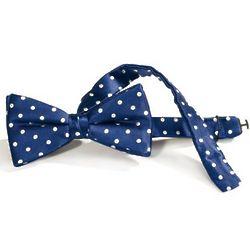 Dots Woven Silk Pre-Tied Bow Tie