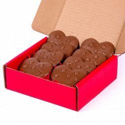 Milk Chocolate Smiley Hearts Box