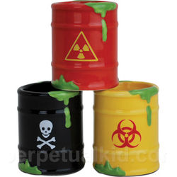 Toxic Waste'd Shot Glasses