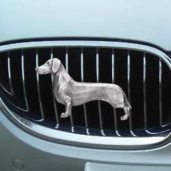 Dachshund Car Grill Ornament
