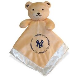 New York Yankees Security Bear Baby Blanket