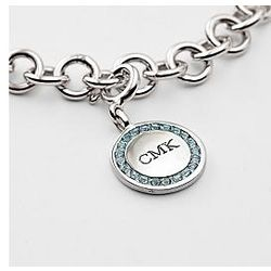 Classic Birthstone Charm Bracelet