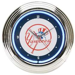 MLB Neon Wall Clock