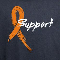 Orange Ribbon Awareness T-Shirt