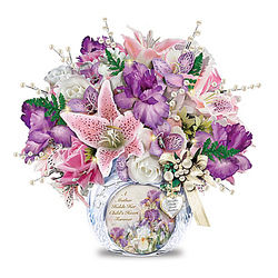 A Mother's Love Personalized Always in Bloom Floral Arrangement