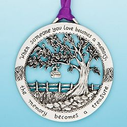Memorial Ornament When Someone You Love Becomes A Memory