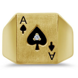 Ace Family Diamond Ring