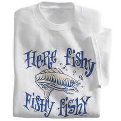 Here Fishy, Fishy T-Shirt