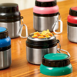 Colorful Stainless Steel Snack Container