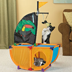 Playables Kitty Pirate Ship