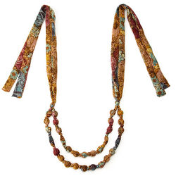 Recycled Sari Necklace