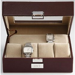 Men's Leather Watch Case