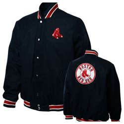 Boston Red Sox Navy Contender Wool Jacket