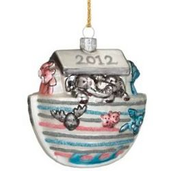 2012 Baby's First Christmas Blown Glass Ornament