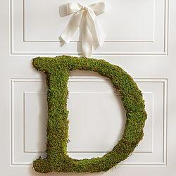 Fresh Moss Letter