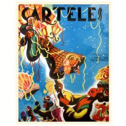 Vintage Cuban Carnival Poster