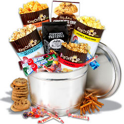 Junk Food Sweets and Snacks Gift Basket