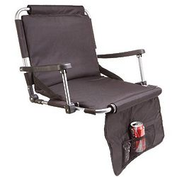 Stadium Chair with Beverage Pocket