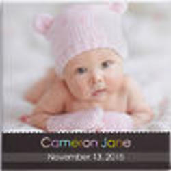"""Little Memories Personalized 20"""" Baby Photo Canvas Art"""