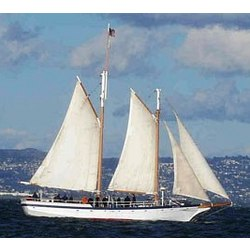 San Francisco Schooner Sailing for Two