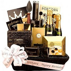Happy Birthday Champagne Basket