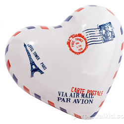 Special Delivery Heart Paperweight
