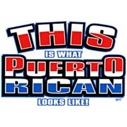 This is What Puerto Rican Looks Like T-Shirt