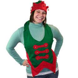 Felt Christmas Elf Vest