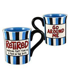 Ceramic Retired Coffee Mug